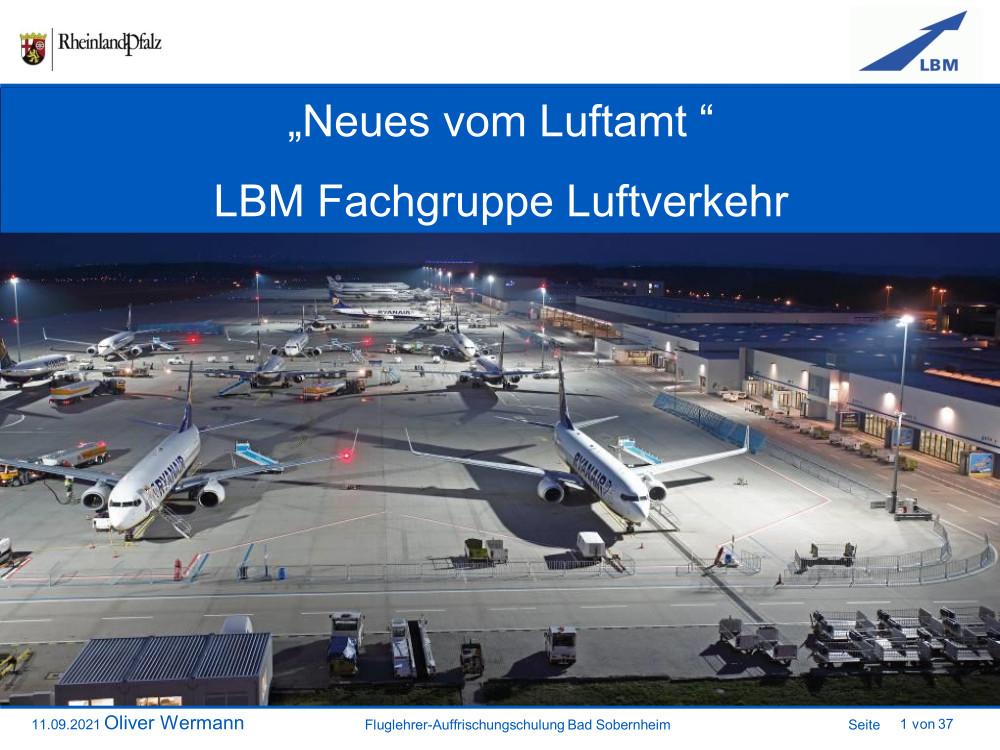 Neues vom Luftamt